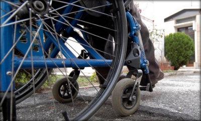 Carrozzina per disabile