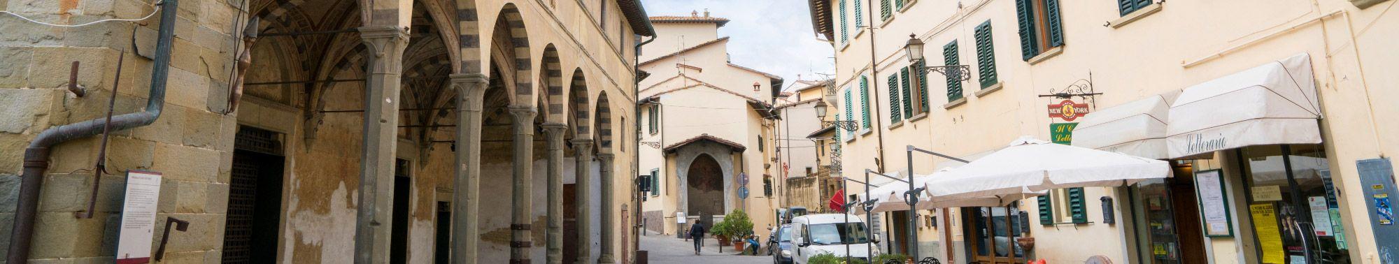 Il centro storico di Lastra a Signa